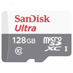 Акция на SANDISK 128GB microSDHC C10 UHS-I R100MB/s Ultra (SDSQUNR-128G-GN6MN) от Repka