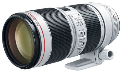 Акция на CANON EF 70-200mm f/2.8L IS III USM (3044C005) от Repka