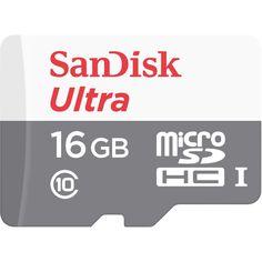 Акция на SANDISK microSDHC 16GB Ultra (Class 10) 80MB/s no adapter (SDSQUNS-016G-GN3MN) от Repka