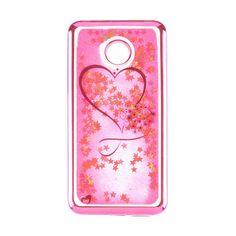 Акция на Чехол Beckberg Aqua Series for Huawei Y7 Prime Hearts Pink от Auchan