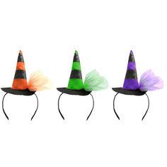 Акция на Обруч ведьмы Halloween Accessories, оранжевый, 26х13,5 см от Auchan