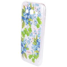 Акция на Чехол Cath Kidston Samsung J5, белый с голубым барвинком от Auchan