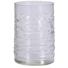 Акция на Подсвечник-ваза HZ1908980 прозрачный, 12х18 см от Auchan