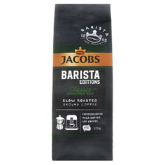 Акция на Кофе молотый Jacobs Barista Classic, 225 г от Auchan