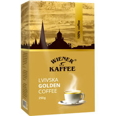 Акция на Кофе молотый Віденська кава Львовская Golden, 250 г от Auchan