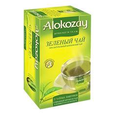 Акция на Чай зеленый Alokozay Green Tea, 25 пакетиков от Auchan
