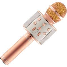 Акция на Караоке микрофон Wster WS 858 Peach от Allo UA