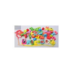 Акция на Развивающая игрушка шнуровка Bambi MD 2199 Буквы от Allo UA
