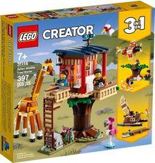 Акция на Конструктор LEGO Creator Домик на дереве для сафари 31116 от MOYO
