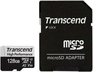 Акция на Карта памяти Transcend microSDXC 128GB Class 10 UHS-I U3 A2 R160/W125MB/s + SD адаптер от MOYO