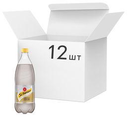 Акция на Упаковка безалкогольного напитка сильногазированного Schweppes Gentle Ginger со вкусом имбиря 1 л х 12 шт (5449000294302) от Rozetka