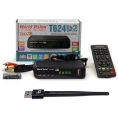 Акция на World Vision T624D2 + USB Wi-Fi адаптер от Allo UA