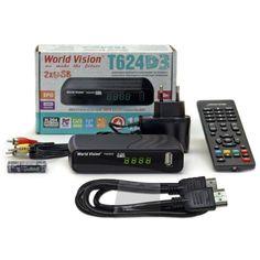 Акция на World Vision T624D3 + HDMI кабель от Allo UA