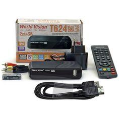Акция на World Vision T624M3 + HDMI кабель от Allo UA