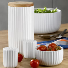 Акция на Набор для соли и перца керамический KELA Maila от Auchan