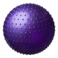Акция на Фитбол массажный 75см фиолетовый KingLion от Allo UA