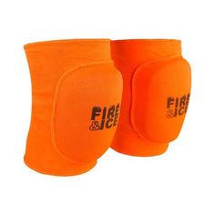 Акция на Наколенник волейбольный Fire&Ice FR-071, оранжевый, р. M (2шт) от Allo UA