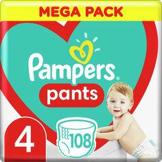 Акция на Подгузники - трусики Pampers Pants Размер 4 (9-15 кг) 108 шт (8006540069448) от Rozetka
