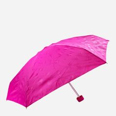 Акция на Зонт складной Fulton FULL501-Gloss-floral механический Розовый от Rozetka