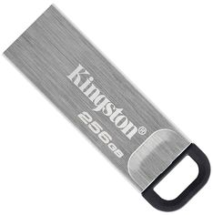 Акция на Kingston DataTraveler Kyson 256GB USB 3.2 Silver/Black (DTKN/256GB) от Rozetka