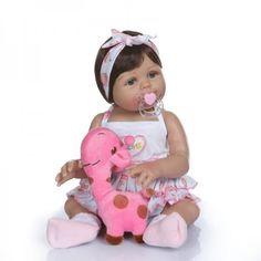 Акция на Силиконовая Коллекционная Кукла Реборн Reborn Девочка София ( Виниловая Кукла ) Высота 47 См от Allo UA