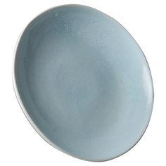 Акция на Тарелка с бортом Manna Ceramics Лазурный, 22 см от Auchan