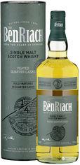 Акция на Виски BenRiach Peated Quarter Casks 0.7 л 46% в тубусе (5060399682619) от Rozetka