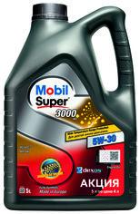 Акция на Моторное масло Mobil Super 3000 XE 5W-30 5 л (156156) от Rozetka