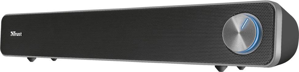 Акция на Акустическая система Trust Arys Soundbar for PC Black (TR22946) от Rozetka