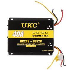 Акция на Инвертор (преобразователь напряжения) UKC DC/DC 24v-12v 40A (5724) от Allo UA