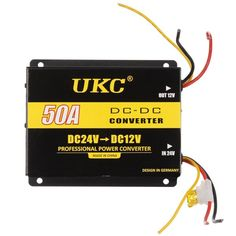Акция на Инвертор (преобразователь напряжения) UKC DC/DC 24v-12v 50A (4074) от Allo UA