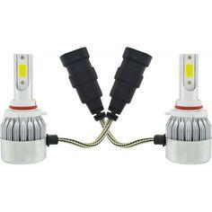 Акция на Комплект автомобильных LED ламп C6 в туманки 9005 (5542) от Allo UA