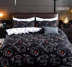 Акция на Постельное белье Elephant бязь Selena 100459 Двуспальный комплект от Podushka