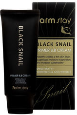 Акция на BB крем для лица Farmstay Black Snail Primer BB Cream SPF50+ PA+++ с муцином черной улитки 50 мл (8809339069724) от Rozetka