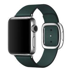 Акция на Ремешок COTEetCI W5 Apple Watch Nobleman 38/40mm Green (WH5200-GR-38) от Allo UA