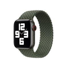 Акция на Ремешок COTEetCI W59 Braided Loop for Apple Watch 38/40mm Inverness Green (WH5302-IG-150) от Allo UA