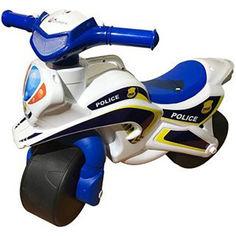 Акция на Каталка-мотоцикл DOLONI TOYS Полиция (0138/510) от Allo UA