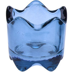 Акция на Набор подсвечников Excellent Houseware DN1900190 Корона синяя, 2 шт. от Auchan