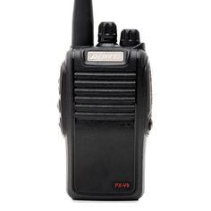 Акция на Рация профессиональная Puxing PX-V9, UHF, 4 Ватт, батарея 1200 мАч черный от Allo UA