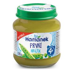Акция на Пюре Hamanek Первая ложка из зеленого горошка 125 г  23506080055083 ТМ: Hamanek от Antoshka