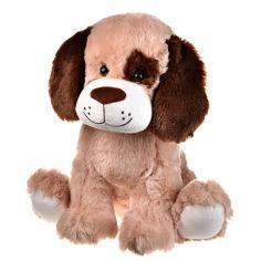 Акция на Собачка плюшевая рыже-коричневая, 36 см от Auchan