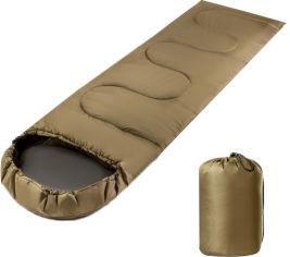 Акция на Спальник-одеяло Champion с капюшоном Олива (CHM00454-2) от Rozetka