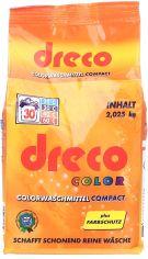 Акция на Стиральный порошок для стирки цветного белья Dreco концентрированный 2.025 кг (4000317160356) от Rozetka