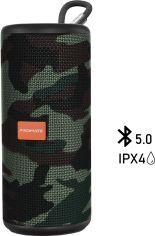Акция на Акустическая система Promate Pylon 10W IPX4 Camouflage (pylon.camouflage) от Rozetka
