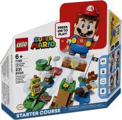 Акция на LEGO Super Mario Приключения вместе с Марио. Стартовый набор (71360) от Repka