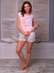 Акция на Пижама ROKSANA 856 L Светло-розовая (4828561629104) от Rozetka
