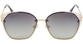 Акция на Солнцезащитные очки для подростков поляризационные SumWin BA9927-02 Золотистые от Rozetka