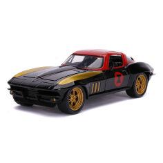 Акция на Машинка Jada Toys Marvel Chevrolet Corvette 253225014 ТМ: Jada Toys от Antoshka