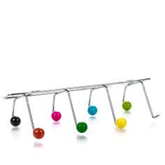 Акция на Крючки металлические, цветные, 35х16 см от Auchan