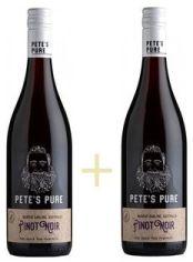 Акция на Набор Pinot Noir, Pete's Pure 0,75 л + Pinot Noir, Pete's Pure 0,75 л (WT4058) от Stylus